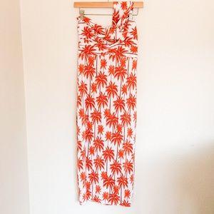 ASOS   NWT Palm Tree Maxi Dress sz 8